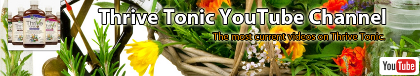 Thrive Tonic on You Tube